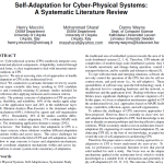 Self-Adaptation for Cyber-Physical Systems: A Systematic Literature Review